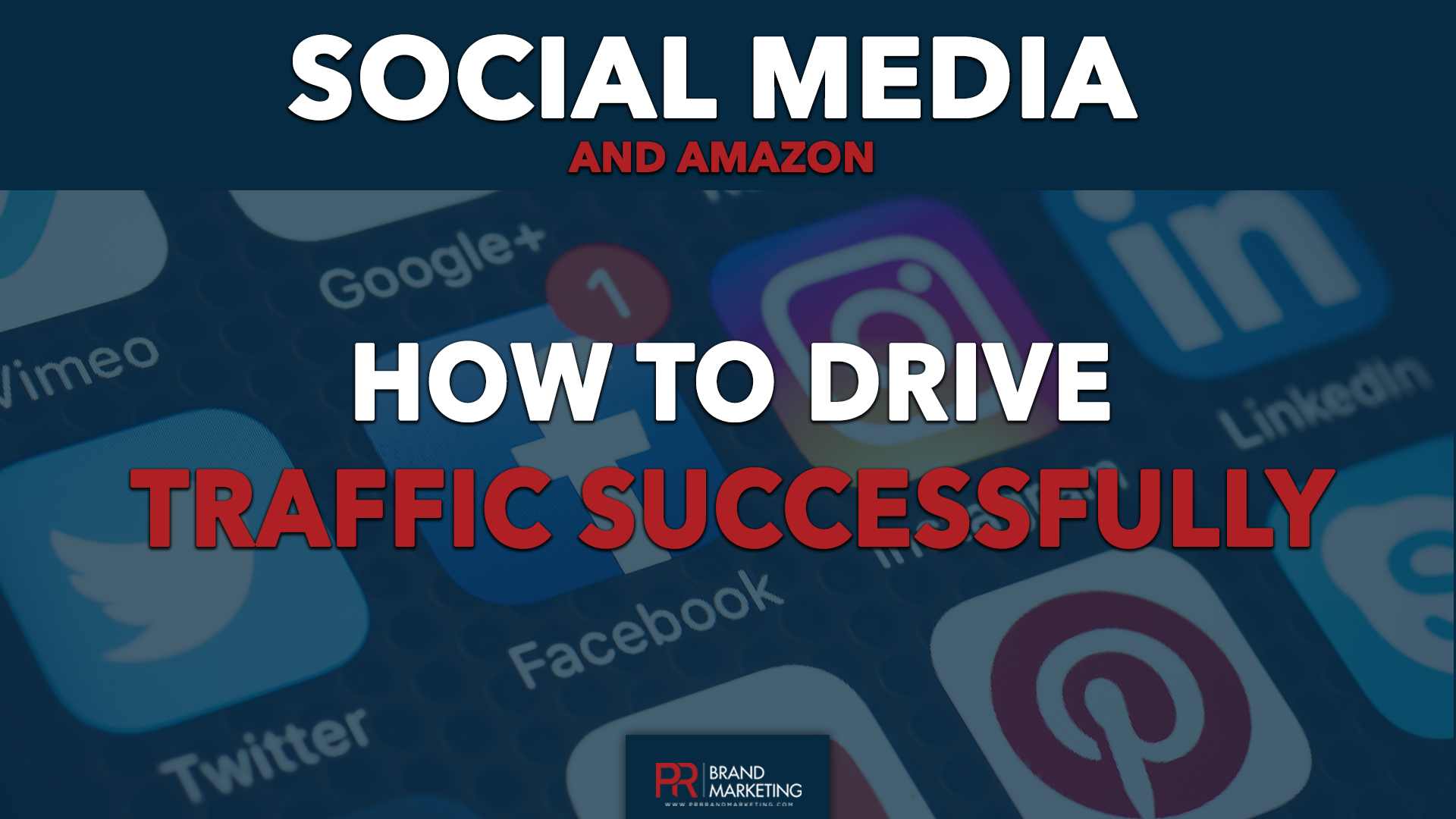Social media and Amazon how to drive traffic succsessfully