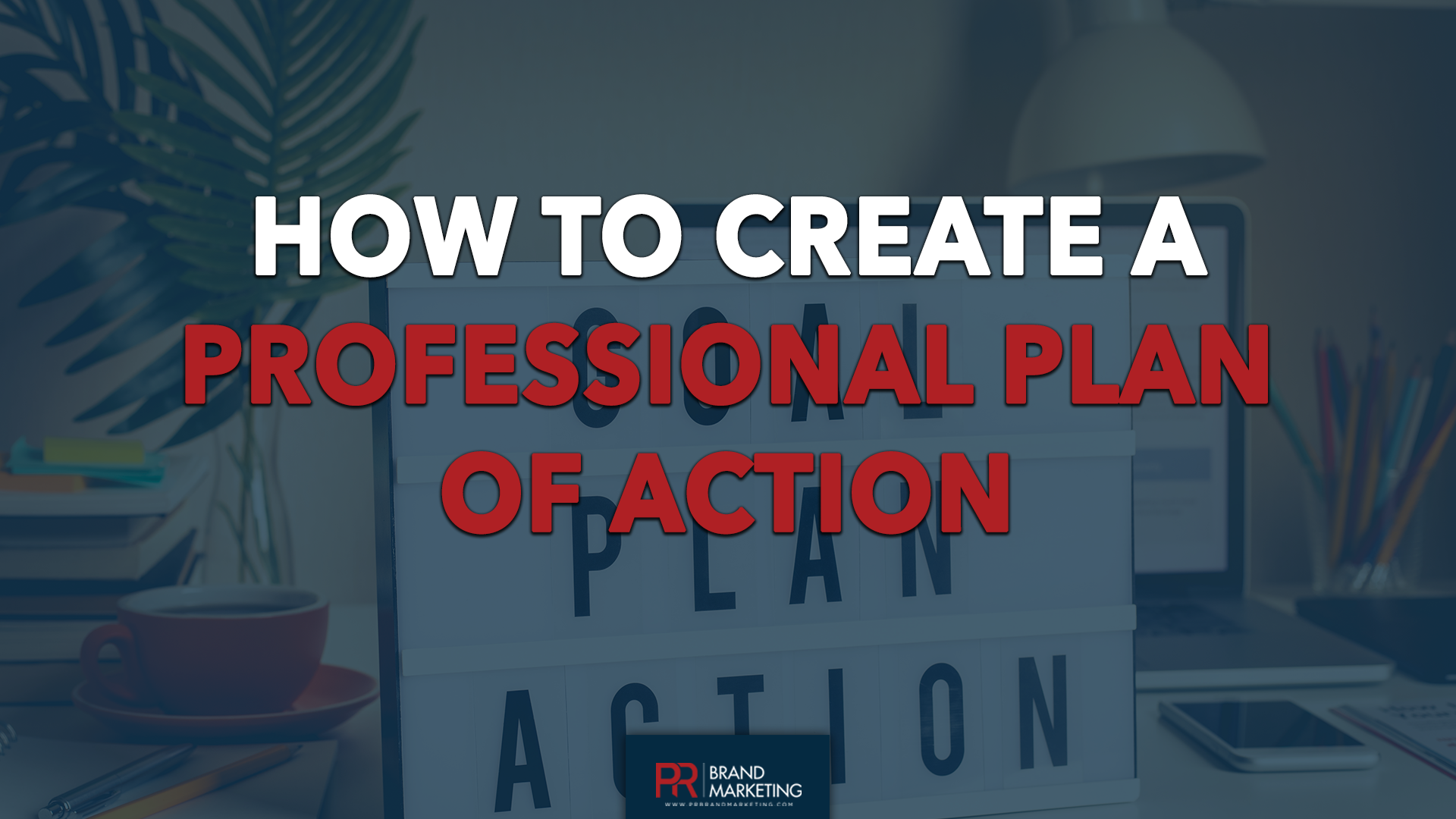 How to create a Proffesional Plan of Action